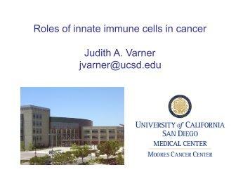 Varner lecture.pdf - UCSD/Burnham Molecular Pathology