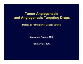 Ferrara lecture.pdf - UCSD/Burnham Molecular Pathology