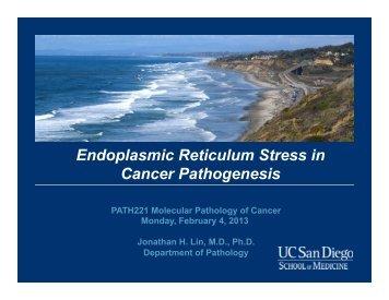 Lin lecture.pdf - UCSD/Burnham Molecular Pathology