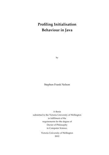 PhD thesis - School of Engineering and Computer Science Wiki ...