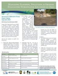Project Update: September 2012 - National Estuarine Research ...