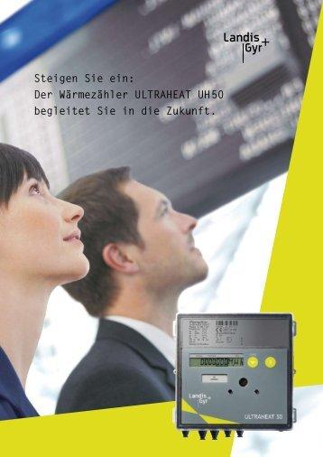 Der Wärmezähler ULTRAHEAT UH 50 begleitet Sie in ... - aqotec.com
