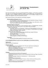 Sozialpädagogin / Sozialarbeiterin (HF, FH) 60 - 80% - Lilith