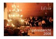 Jahresbericht 2008 - Lilith