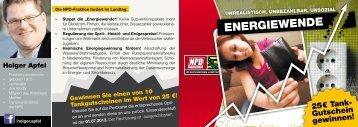 energiewende - NPD-Fraktion im Sächsischen Landtag