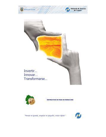 Invertir… Innovar… Transformarse… - eSIGEF