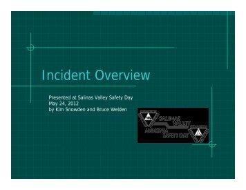 Kim Snowden & Bruce Welden - Keynote - Salinas Valley Ammonia ...