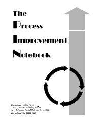 Process Improvement Notebook - Balanced Scorecard Institute