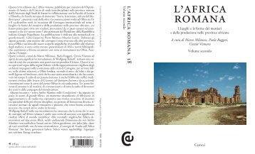 Africa romana 2009 (vol. 2) - Università degli Studi di Sassari