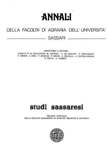 ANNAbI - Università degli Studi di Sassari