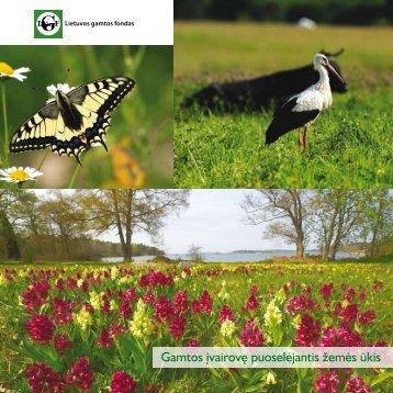Gamtos įvairovę puoselėjantis žemės ūkis