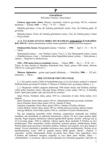 Pirmojo visuotinojo Lietuvos gyventojų 1923 m. su