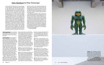Haim Steinbach by Peter Schwenger