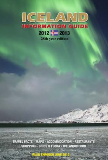 Download the Iceland Information Guide in PDF format