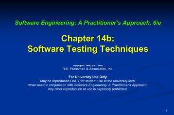 scenario testing - The University of Toledo - Engineering ...