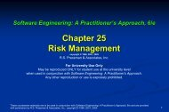 Risk Projection - The University of Toledo - Engineering Technology ...