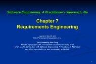 Requirements Engineering-I - The University of Toledo ...