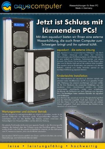 Download Flyer - Wasserkühlung für Ihren PC - aqua-computer ...