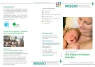 Mutter-Kind-Zentrum - Missio