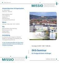 EKG-Seminar - Missio