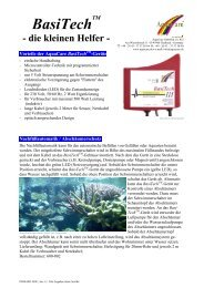 Basitechtm - die kleinen Helfer - Aquacare Gmbh & Co. KG