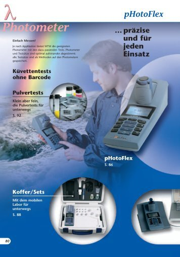 Photometer, WTW