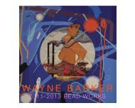 WAYNE BARKER Beadworks 2011-2013