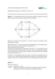 Combinatorische Optimalisatie, 2012-2013 Onderstaande vragen ...