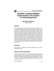 Sunoikisis: Computer-Mediated Communication in the Creation of a ...