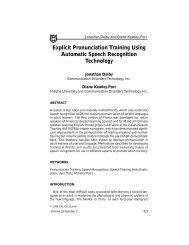Explicit Pronunciation Training Using Automatic Speech ...