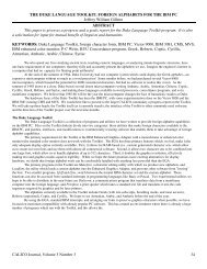 The duke language toolkit - Software @ SFU Library