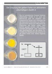 zuschriften - Departement für Chemie und Biochemie - Universität ...