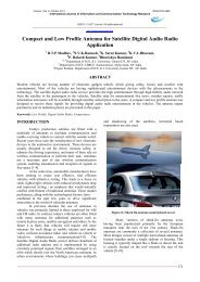 Journal of Technology Compact and Low Profile Antenna for ...