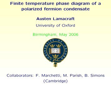 Finite temperature phase diagram of a polarized fermion condensate