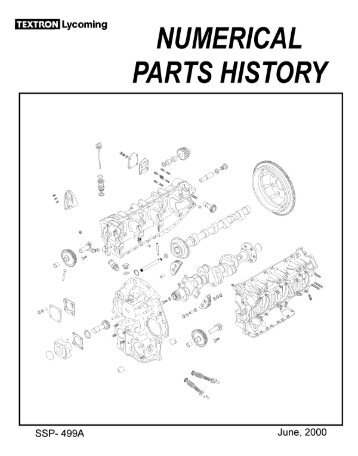 Lycoming torque limits lycoming numerical parts history sciox Gallery