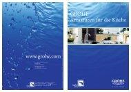 GROHE Armaturen für die Küche www.grohe.com - ASK Aqua Cucina