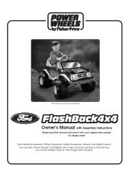 75547 : Ford® Flash Back 4x4 - TRU - Mattel