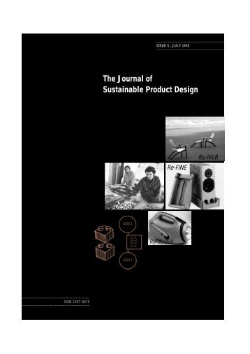 Issue 6 - The Centre for Sustainable Design