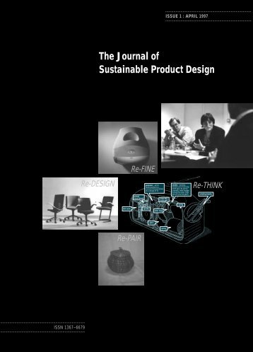 The Journal of Sustainable Product Design - The Centre for ...
