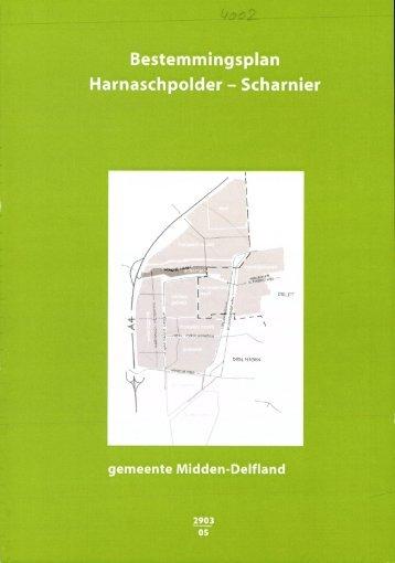 Bestemmingsplan Harnaschpolder - Scharnier - Ruimtelijkeplannen.nl