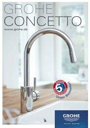 Grohe Concetto (ca. 1 6MB) - ASK Aqua Cucina