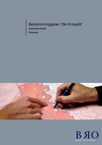 Bestemmingsplan 'De Krosselt' - Ruimtelijkeplannen.nl