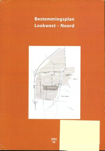 Bestemmingsplan Lookwest - Noord - Ruimtelijkeplannen.nl