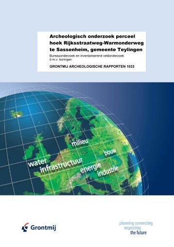Hoek Rijksstraatweg Warmonderweg - Gemeente Teylingen