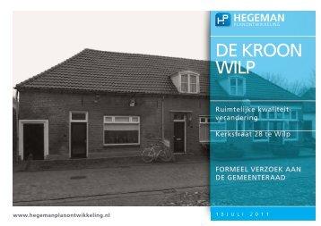 DE KROON WILP - Ruimtelijkeplannen.nl