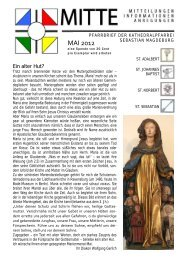 Pfarrbrief Aktuell - St-sebastian-magdeburg.de