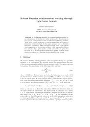 Robust Bayesian reinforcement learning through tight lower bounds