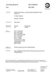 Technischer Bericht Nr. 028-71346452-001 Vom 20.01 ... - Exaco
