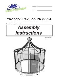 Click to view printable RONDO Pavilion Assembly Instructions - Exaco