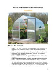 RIGA German Greenhouses - Exaco